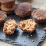 Mini muffins de canela, tiernos y dulces