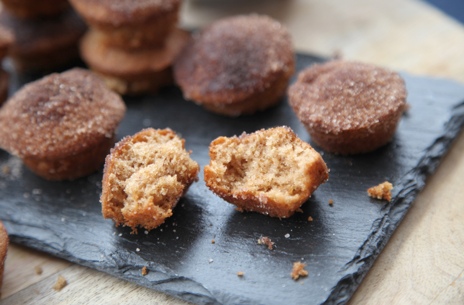 Mini muffins de canela