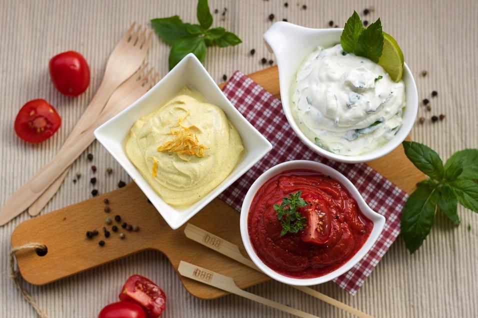 ¡Salsas! el comodín perfecto y colorido para muchas de tus recetas