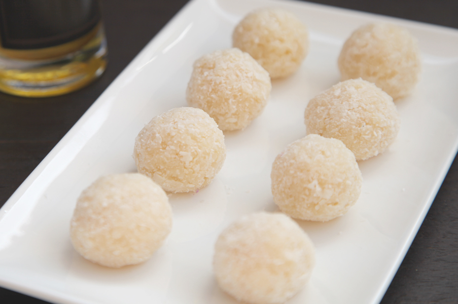 Bombones de coco
