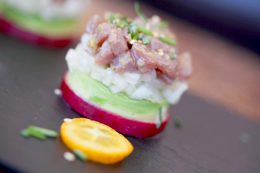 tartar de atún