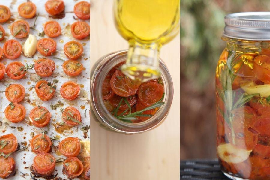 Aromáticos tomates cherry