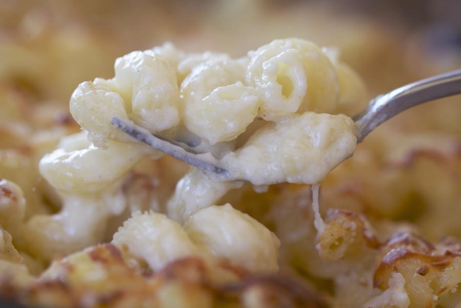Spirali con queso: cremosos y delicados