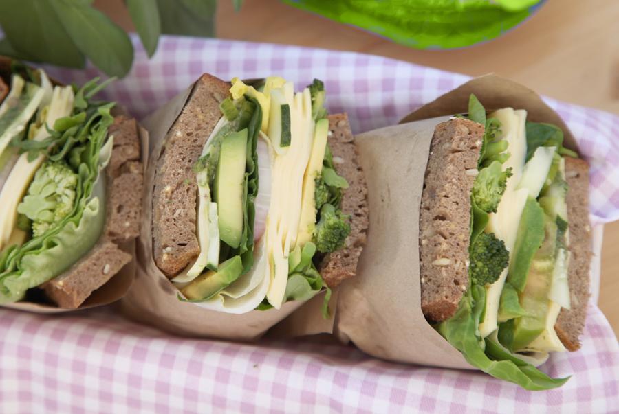 sándwich verde