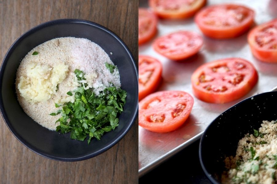 tomates al horno